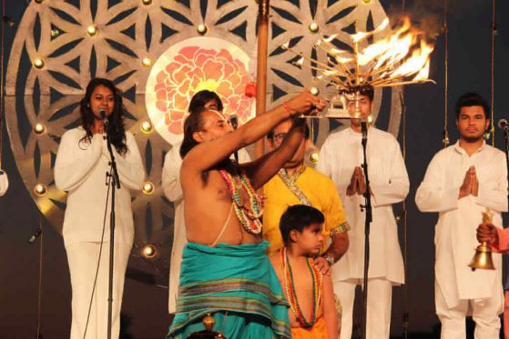Aarti with Chants